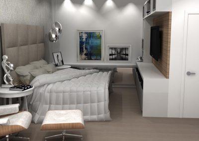 Projetos de Quarto e Closet Planejados Roberto Almeida Interiores 7