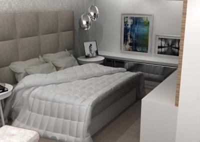 Projetos de Quarto e Closet Planejados Roberto Almeida Interiores 8