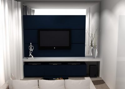 Projetos de Sala Planejada Roberto Almeida Interiores 1