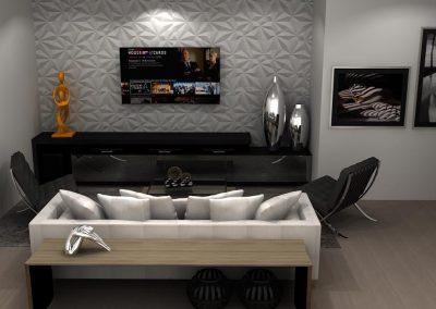 Projetos de Sala Planejada Roberto Almeida Interiores 3