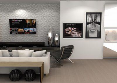 Projetos de Sala Planejada Roberto Almeida Interiores 4