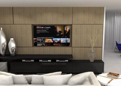 Projetos de Sala Planejada Roberto Almeida Interiores 5