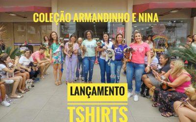 Lançamento Coleção de TShirts do Armandinho & Nina