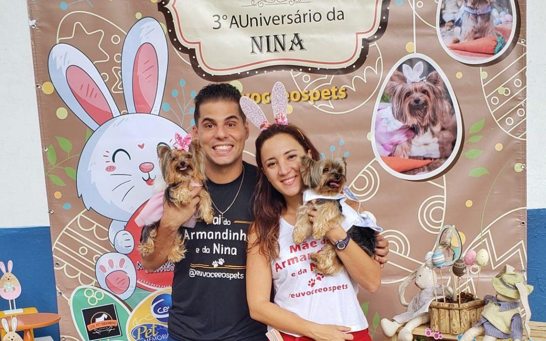 6º Evento Pet Armandinho & Nina e Auniversário da Nina