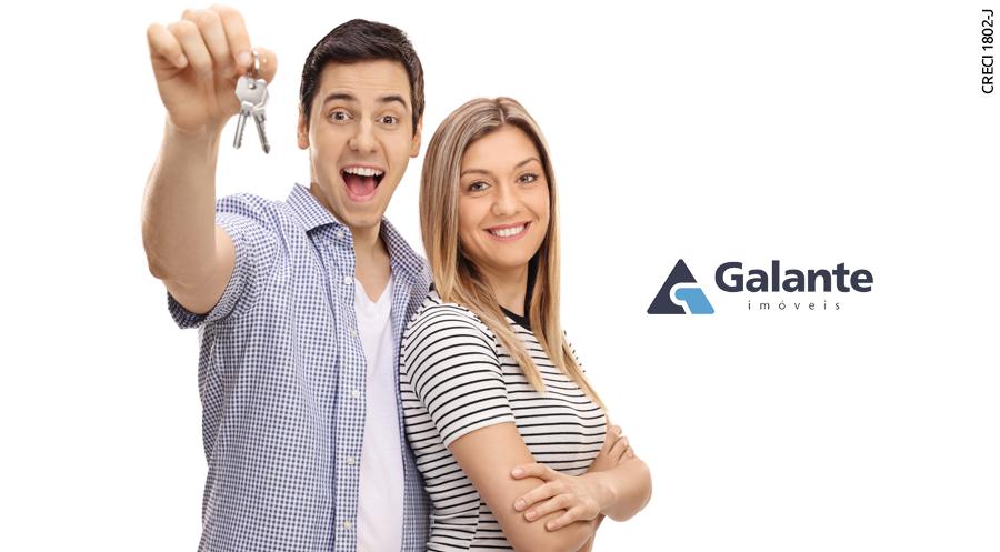 Como alugar um imóvel sem fiador na Galante Imóveis