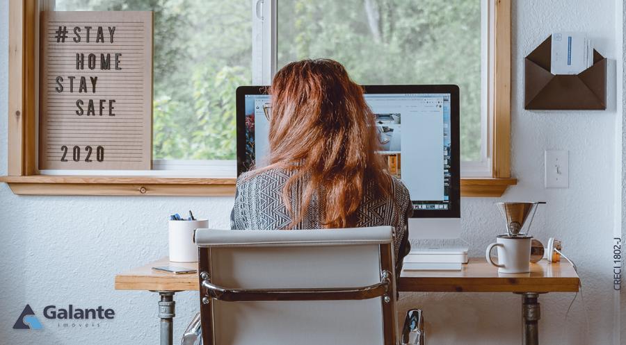 6 dicas para ter um home office mais confortável e produtivo