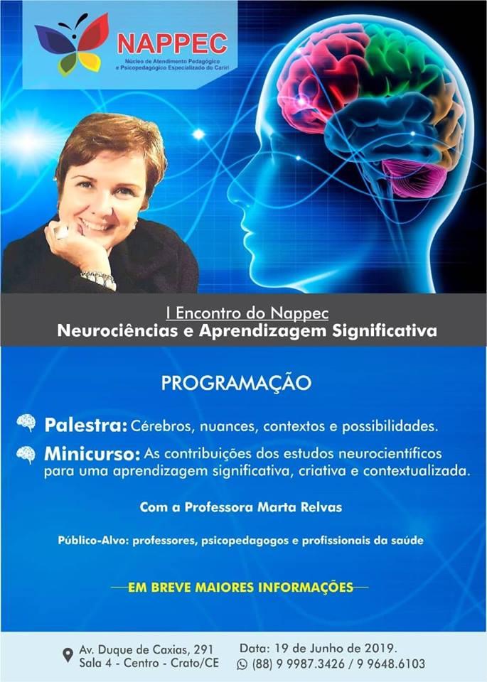 I Encontro Nappec Neurociência e Aprendizagem Significativa