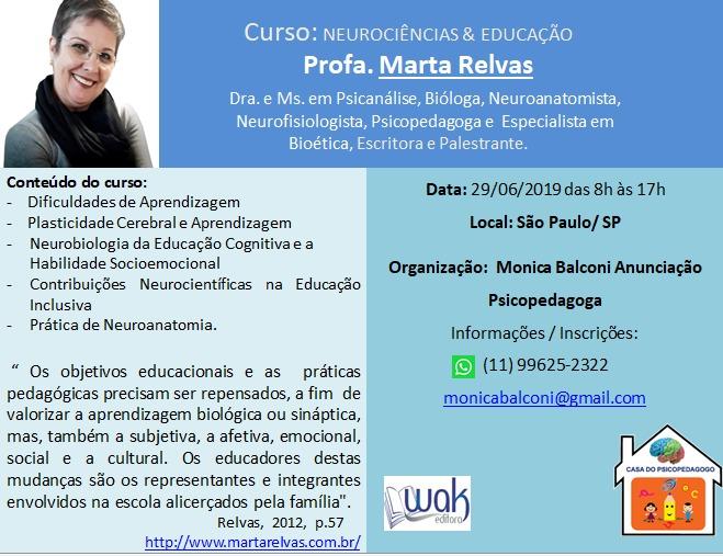 Curso Neurociências e Educação