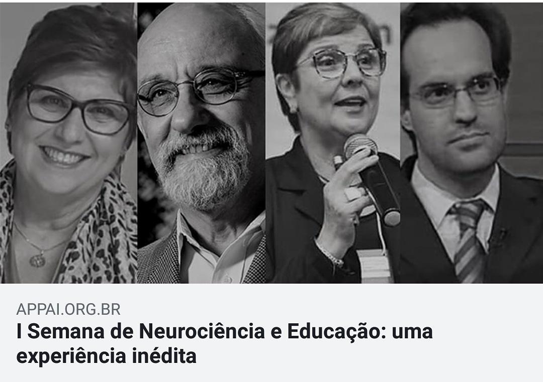 Semana de Neurociência e Educação APPAI
