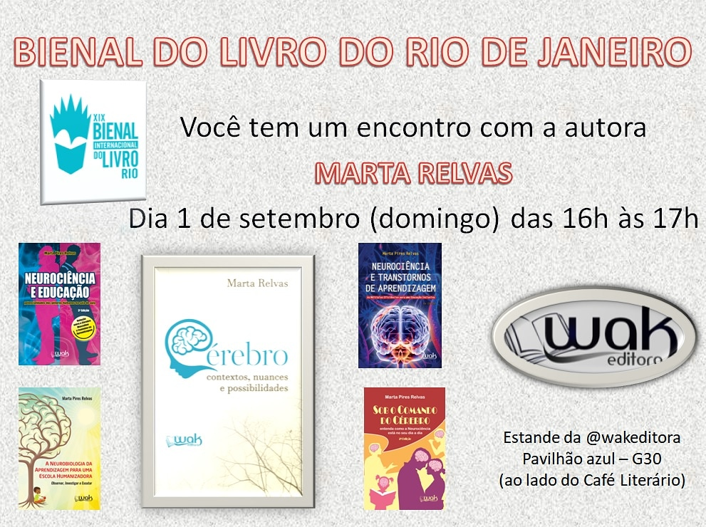 flyer Bienal do Livro Rio de Janeiro 2019
