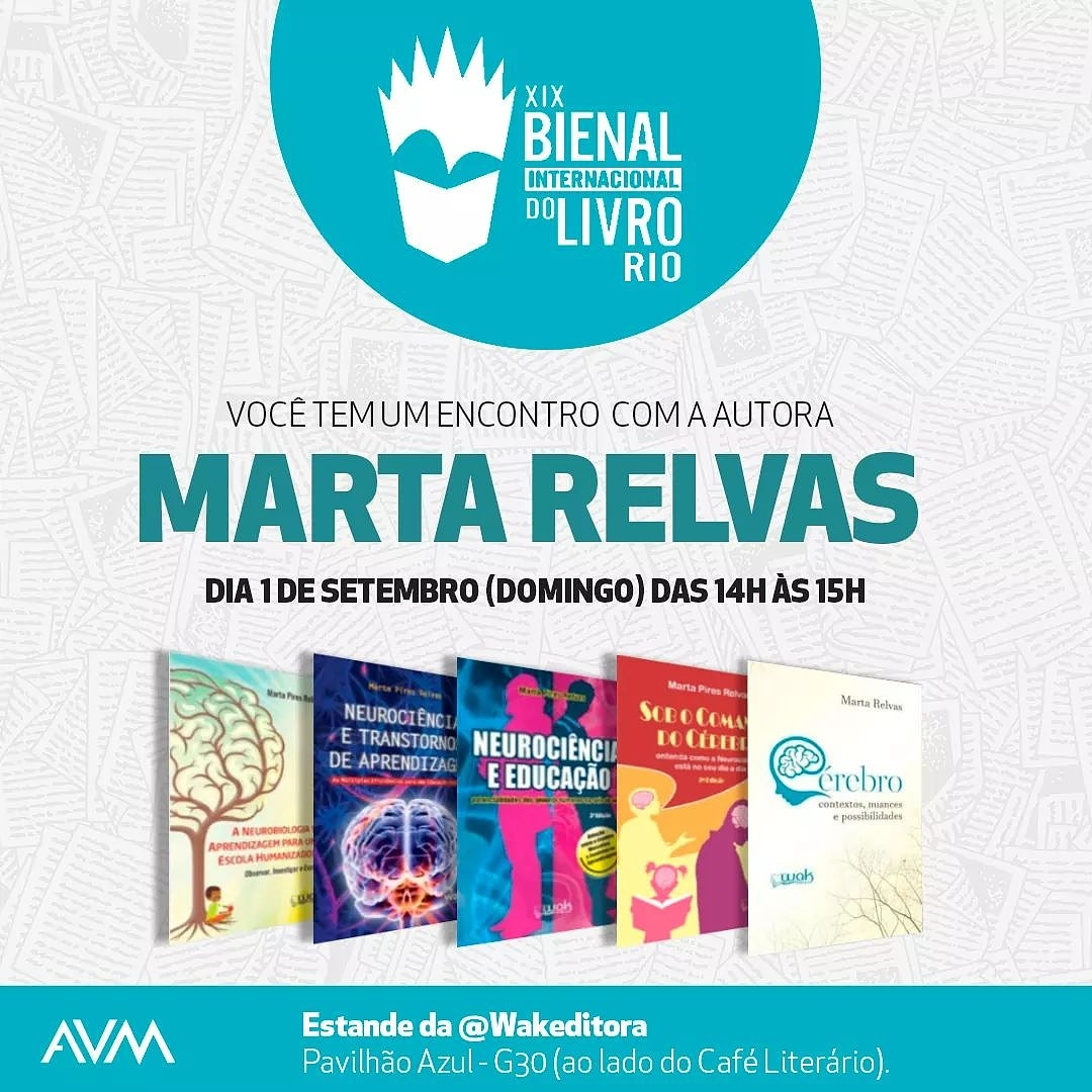 Flyer Marta Relvas Bienal do livro 2019