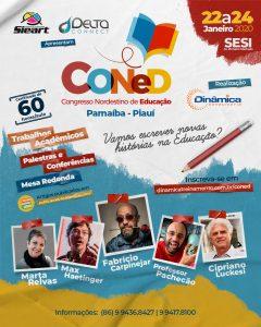 cartaz do coned congresso nordestino de educação