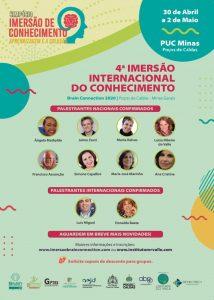 Cartaz da 4 Imersão Internacional do Conhecimento
