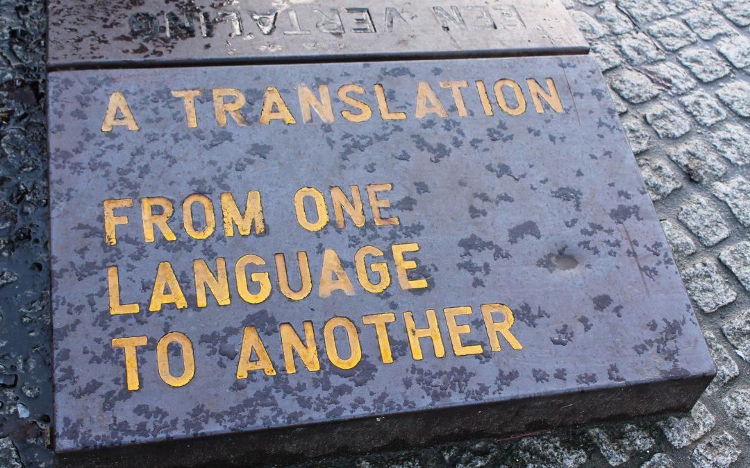 placa tradução