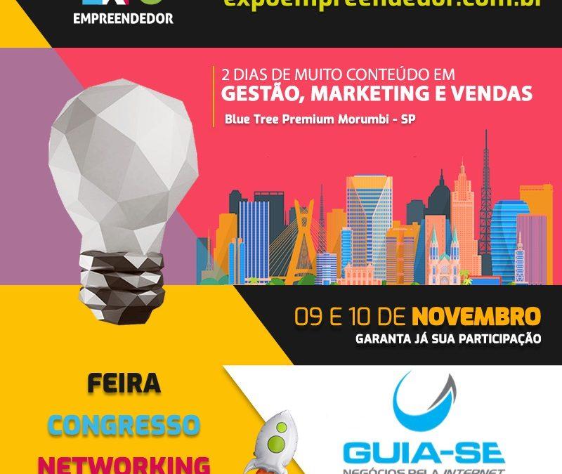 Expo Empreendedor 2019: Dois dias para falar de inovação, marketing, vendas e muito mais
