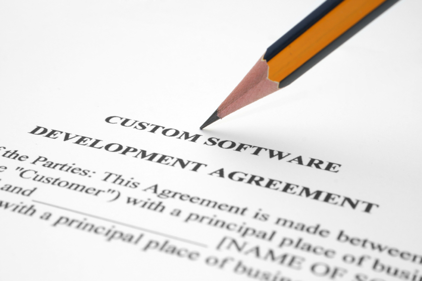 Software development agreement