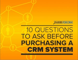 CRM 10 Questions to Ask (Offer)