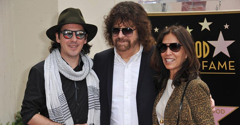 Dhani Harrison with Jeff Lynne