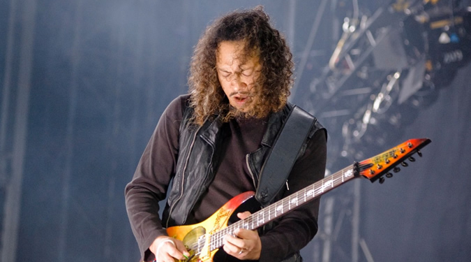Kirk Hammett Photo