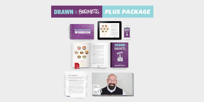 Drawn to Business Plus Package