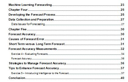 The Ultimate Guide to Demand Forecasting