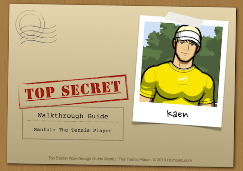 Manful: The Tennis Player? This walkthrough guide will help you find