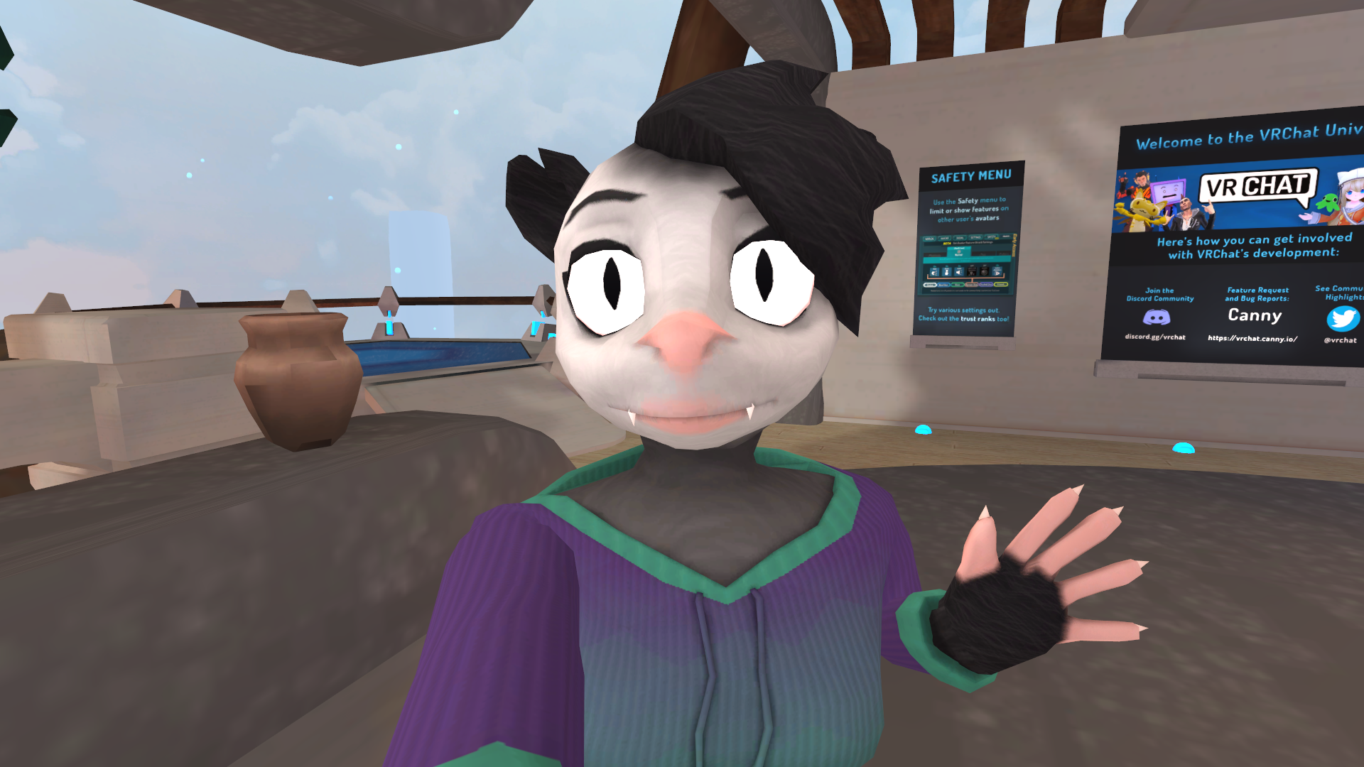 Possum Avatar - PC/Quest Ready