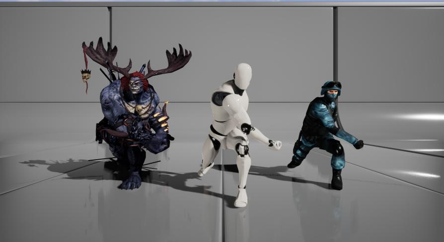 Mixamo Animation Retargeting - Unreal Engine 4 plugin