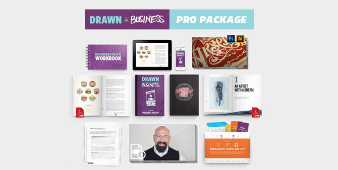 Drawn to Business Pro Package