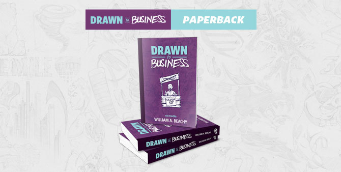 Drawn to Business Paperback