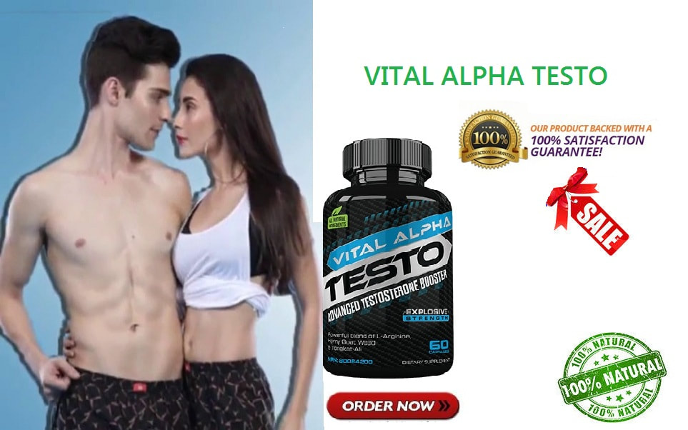 Vital Alpha Testo Reviews: Testosterone booster Pills Price in Canada and Where to Buy? - mercedes0