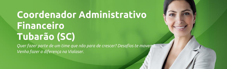 Coordenador(a)  Administrativo Financeiro | Tubarão (SC)