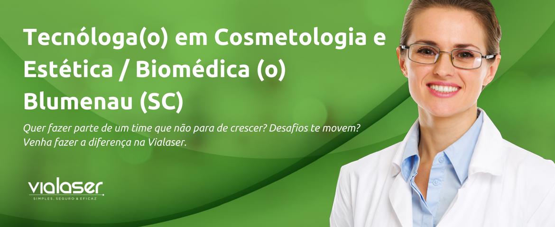 Tecnóloga(o) em Cosmetologia e Estética | Floripa Shopping (SC)