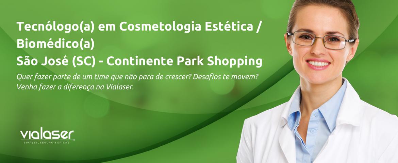 Tecnóloga(o) em Cosmetologia e Estética / Biomédica(o)   São José (SC)