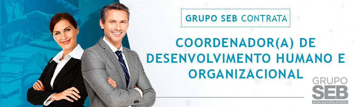 Coordenador (a) de Desenvolvimento Humano e Organizacional