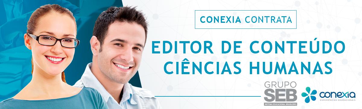 Editor de Conteúdo Ciências Humanas