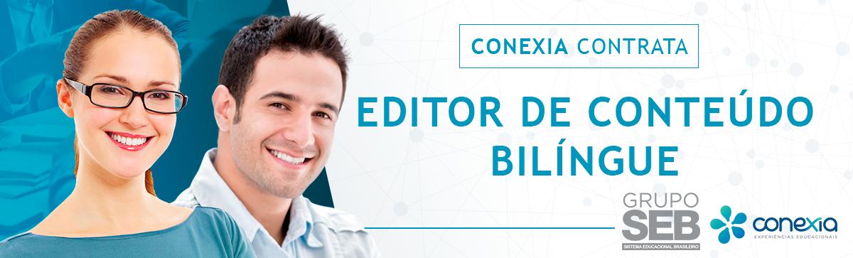 Editor de Conteúdo Bilíngue