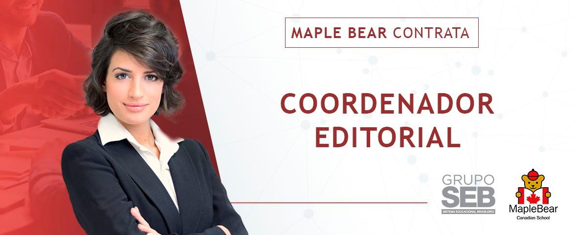 Coordenador Editorial