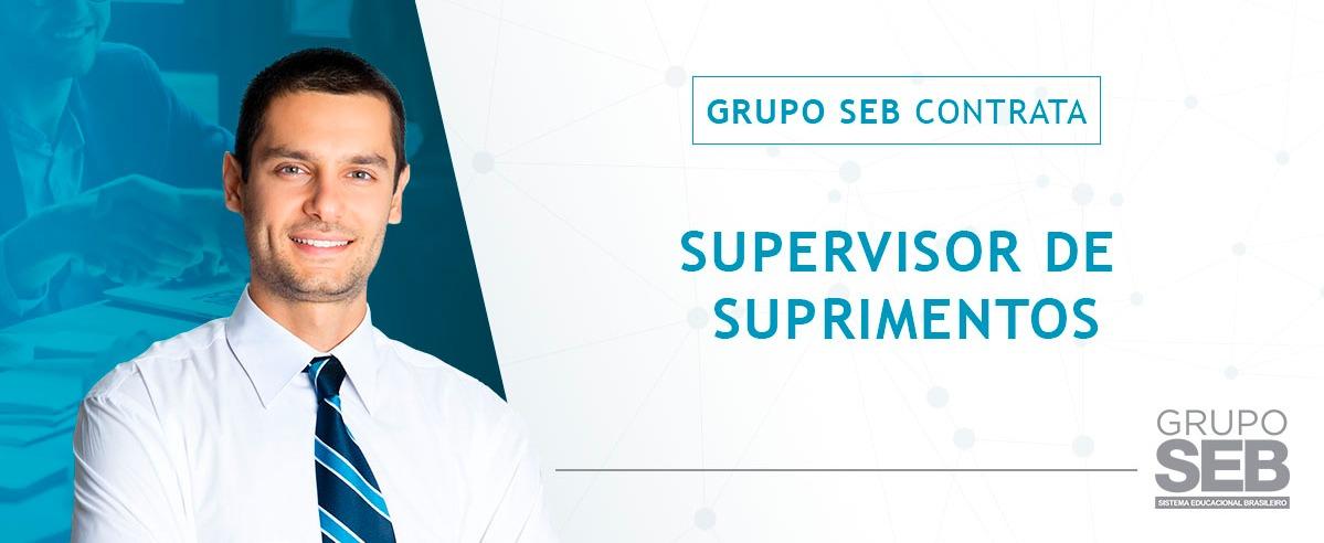 Supervisor de Suprimentos