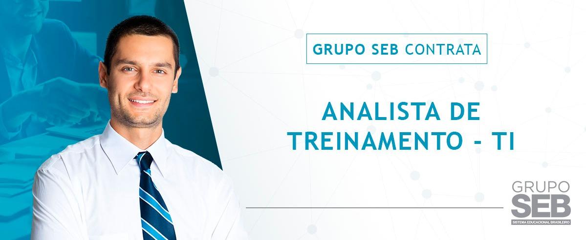 Analista de Treinamento - TI