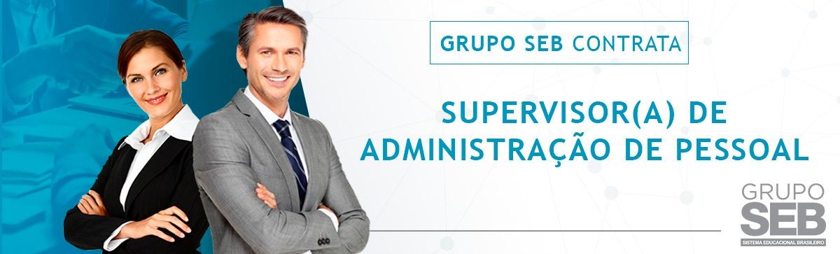 Supervisor de Administração de Pessoal
