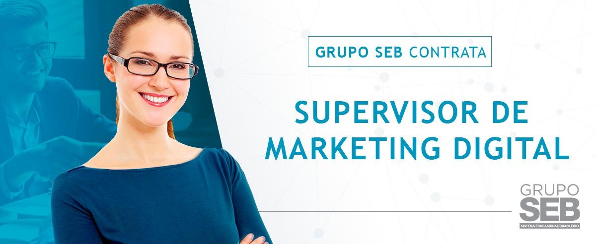 Supervisor de Marketing Digital