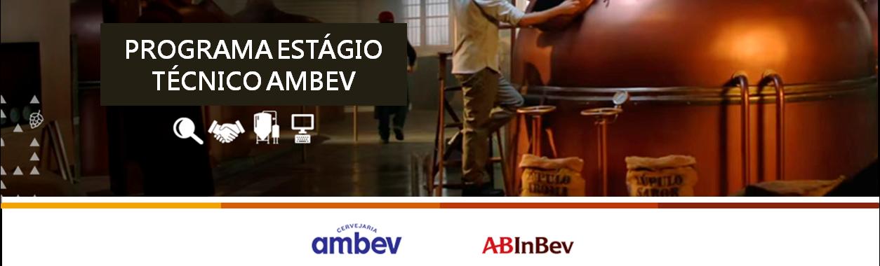 Programa de Estágio Técnico 2019 Ambev  - Viamão