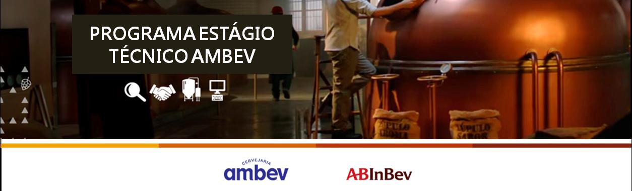 Programa de Estágio Técnico 2019 Ambev - Ponta Grossa