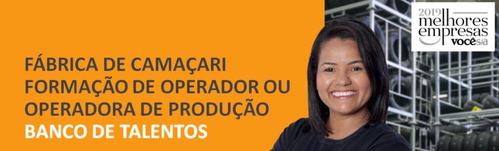 Fábrica Continental de Camaçari está recebendo currículos para Operador (a) de produção 1