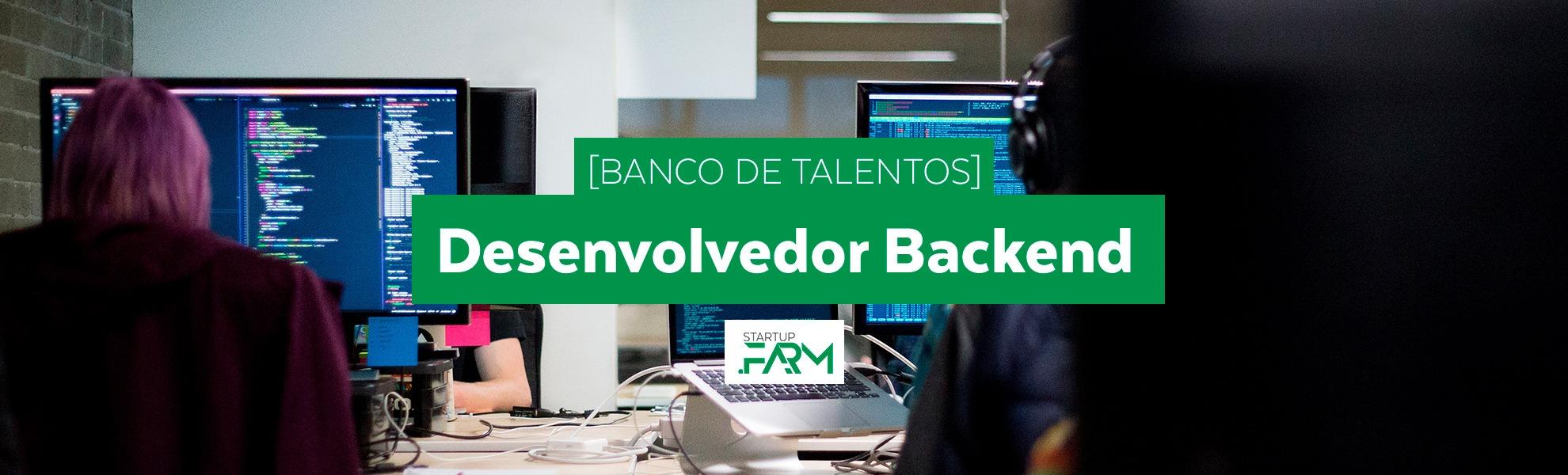 [Banco de Talentos] Desenvolvedor Backend