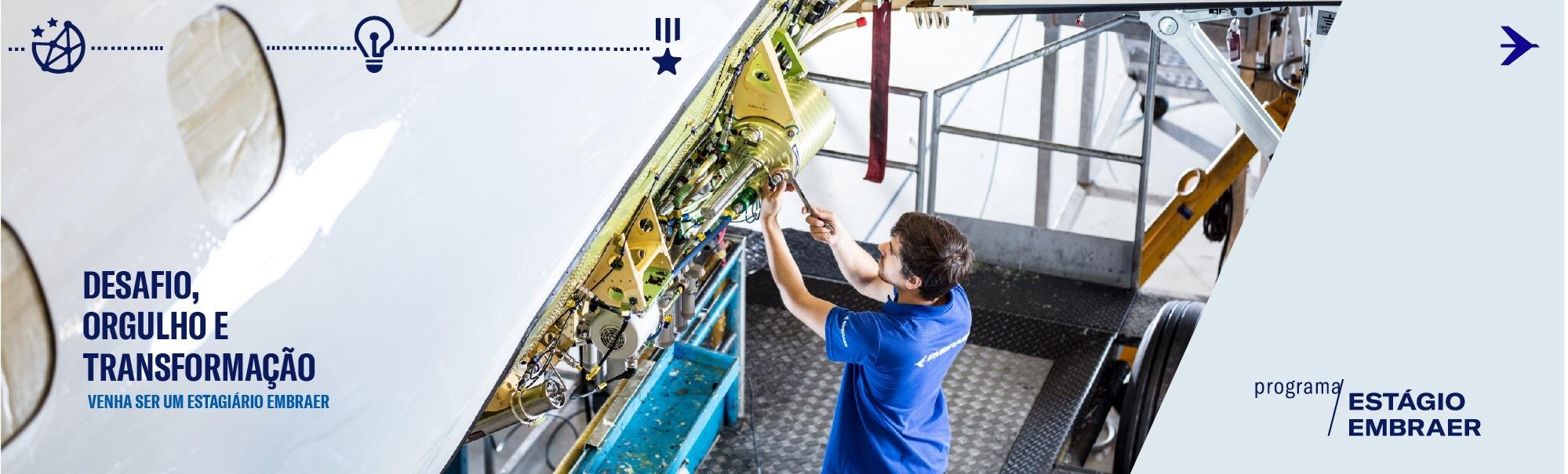 0. Programa de Estágio Embraer ✈ - Engenharia e Operações 2019.2