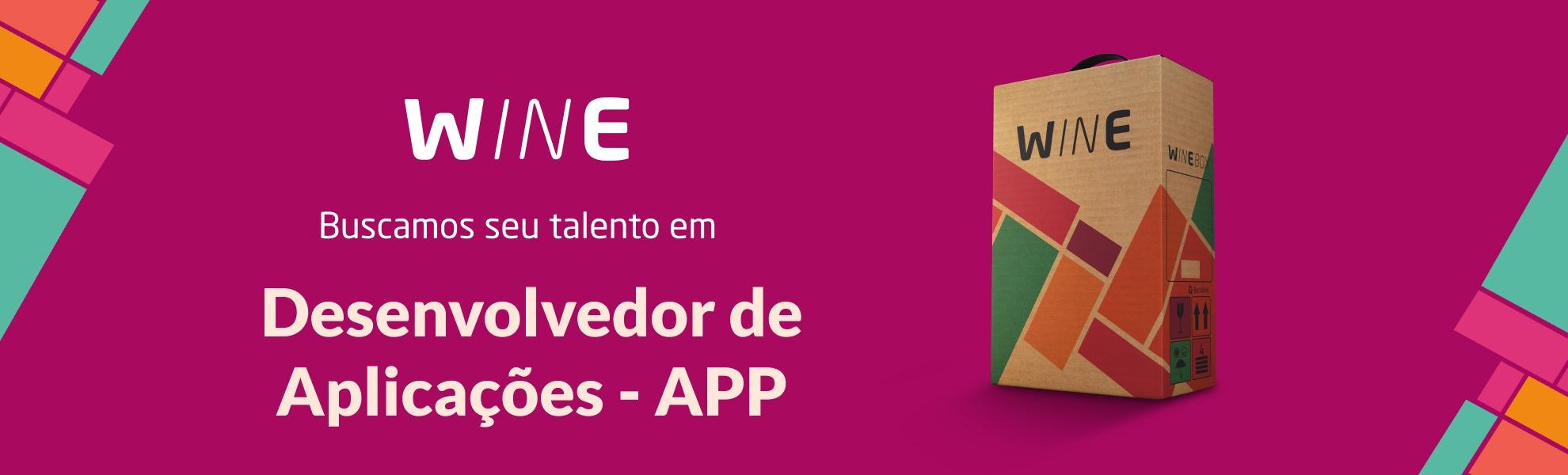 Desenvolvedor de Aplicações - APP - Vitória ou SP