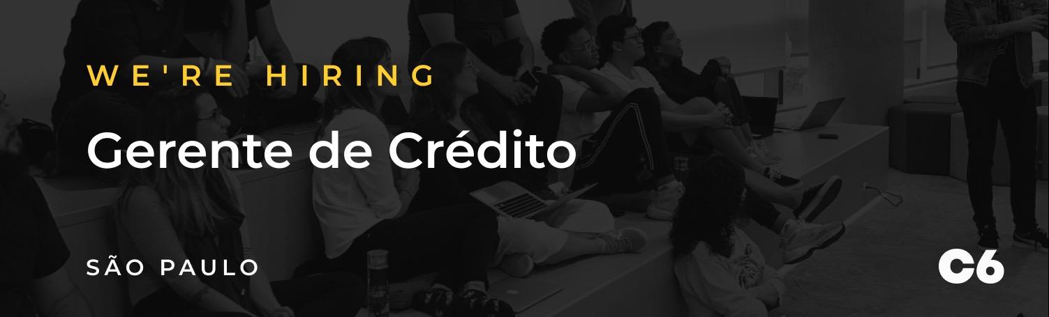 Gerente de Crédito