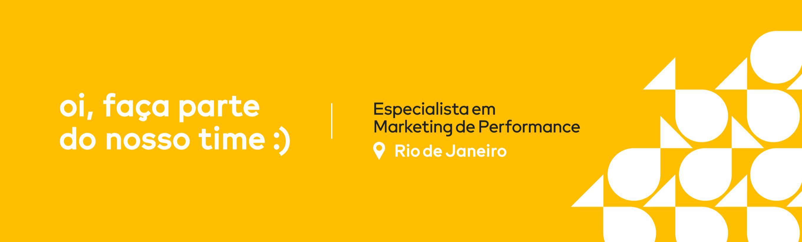 Especialista de Marketing de Performance